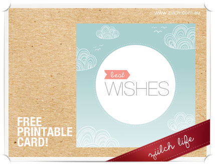 Download This Fabulous Best Wishes Card Versatile Could Be Used For A Birthday Or Wedding And Its Absolutely Free To Print