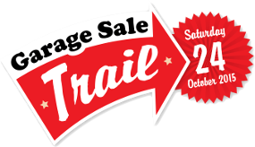 The Garage Sale trail is running Saturday 24th October 2015 - Australia wide.
