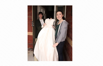 Giving away a wedding dress on Ziilch